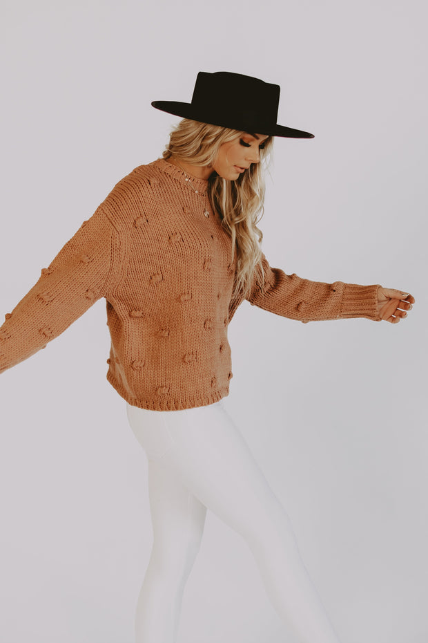 Harvest Pom Sweater
