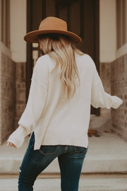 Highland Sweater in Ivory