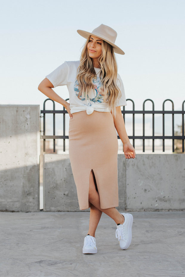 Horizon Midi Skirt