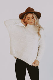 Snowfall Mock Neck Sweater