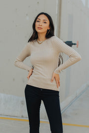 Arden Ribbed Top