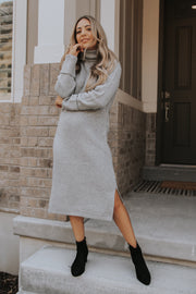 Blair Mock Neck Sweater Dress