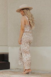 Maude Jumpsuit in Leopard