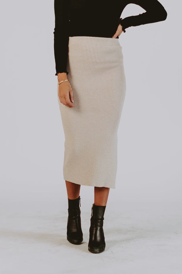 City View Ribbed Skirt