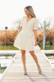 Marmalade Floral Lace Dress