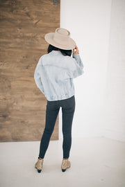 Zuri Oversized Denim Jacket - RESTOCK