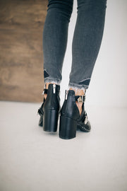 Bondi Black Booties