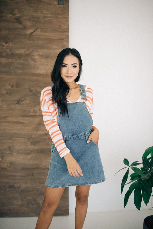 Jules Denim Overall Dress