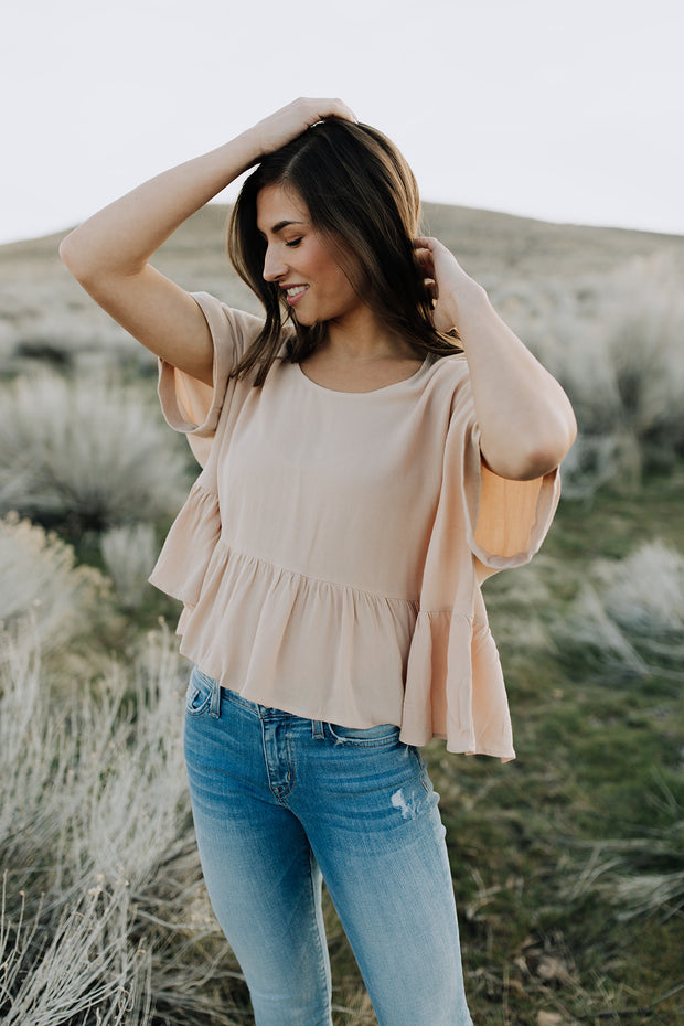 Zoey Peplum Top