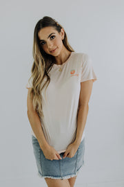 Peachy Tee in Peach