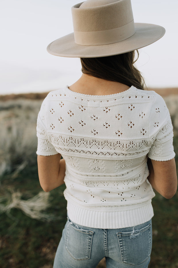 Leia Crochet Top