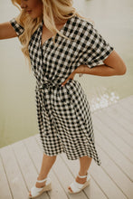 Quinn Gingham Check Dress