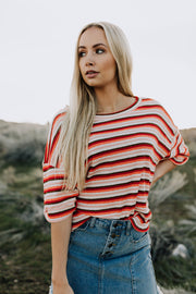 Roxie Stripe Top