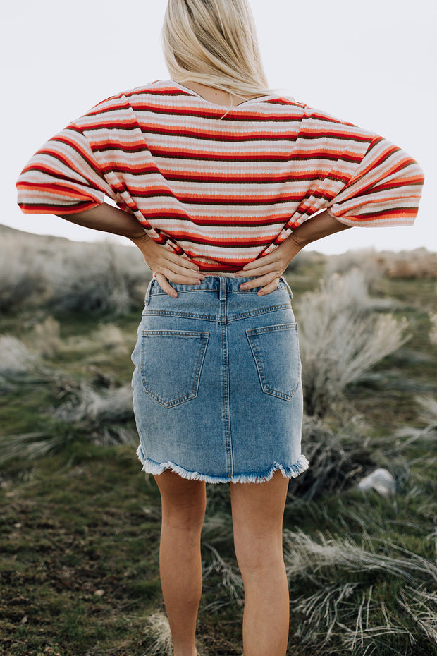 High Hopes Denim Skirt