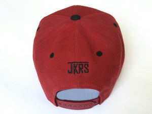 SCJ 2-Tone Snapback (Maroon and Black)