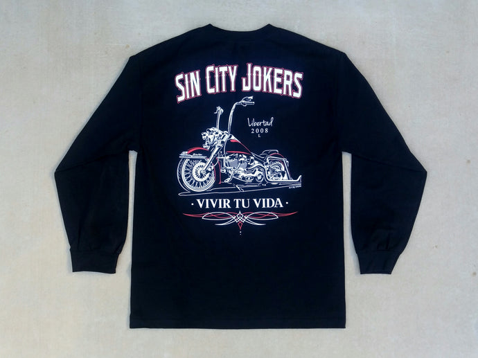 Harley Davidson Lowrider Bike Long Sleeve Tee
