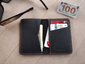 Baurdi Front Pocket Full Leather Bi-fold Wallet