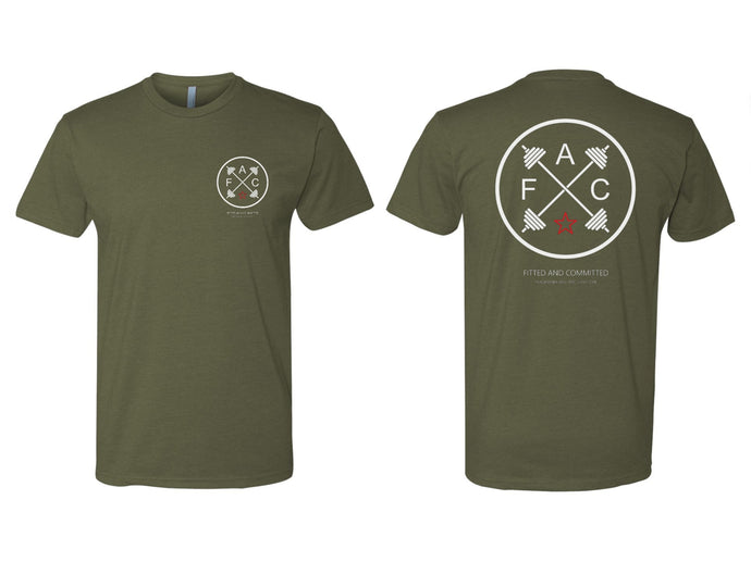 Circle FAC Men's Tee (Army Green)