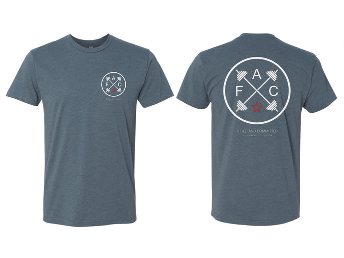 Circle FAC Men's Tee (Indigo Blue)