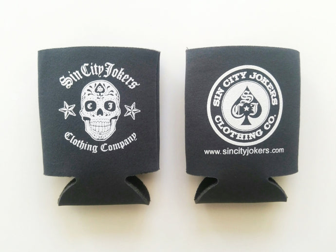 Sugar Skull Coozie (Gray)
