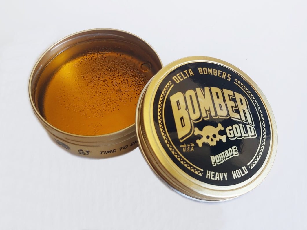 Bomber Gold Heavy Hold Pomade