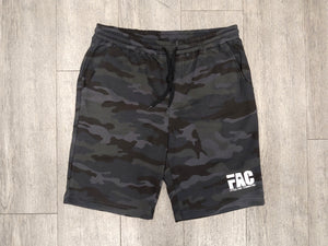 FAC Black Camo Fleece Shorts