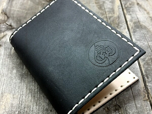 SCJ Front Pocket Full Leather Bi-fold Wallet