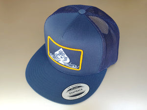 SCJ Classic Navy Trucker (Gold and White)