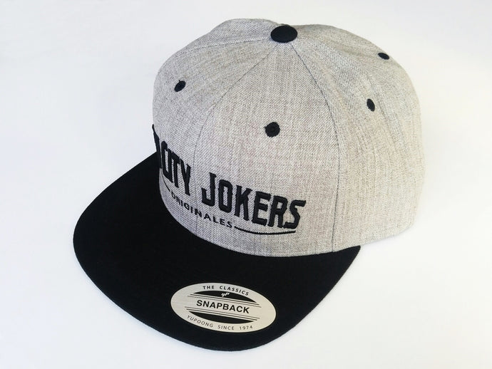 SCJ Originales Snapback (Black/ Light Heather)