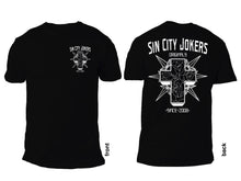 Sin City Jokers Cross Black Tee