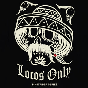 Locos Only: Deadbeat Lines (Pinstriper Series) T-Shirt