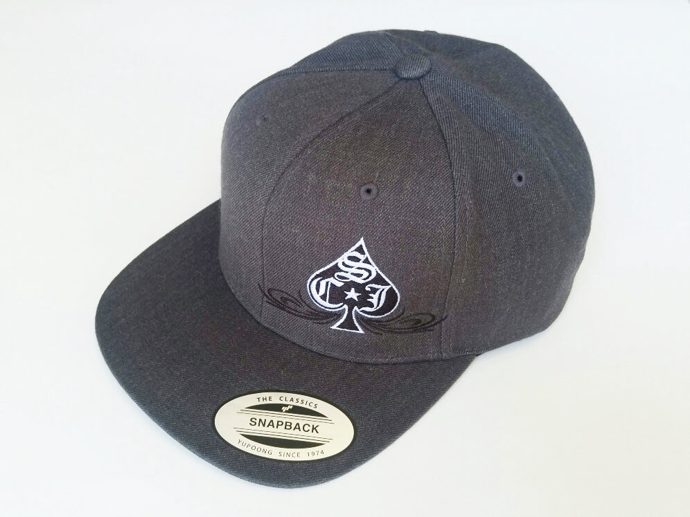 SCJ Classic Charcoal Heather Snapback