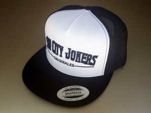 SCJ Originales Trucker (White and Black)