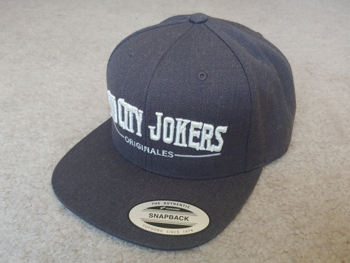 SCJ Originales Snapback (Charcoal Gray)