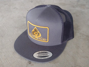 SCJ Classic Charcoal Trucker (Gold and Black)