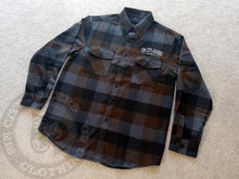 SCJ Flannel (Brown/Gray Plaid)