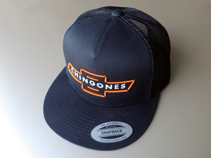 SCJ CHINGONES Trucker Hat (HD Orange)