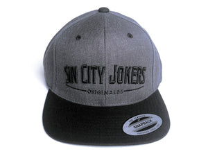 SCJ Originales Snapback (Black/ Charcoal Heather)