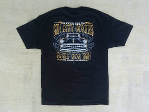 Sin City Jokers 1954 Chevy Black Tee