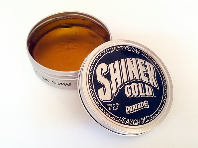 Shiner Gold Pomade (Heavy Hold)