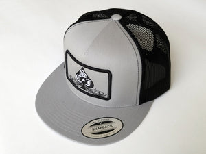 SCJ Classic Trucker (Silver and Black)