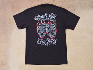 SCJ Smile Now Cry Later (Pinstriper Series) Tee
