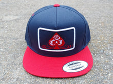 SCJ Classic 5 Panel Snapback (Red, White and Blue)