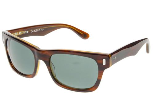 Tres Noir Sixty-One Glasses (Scotch Tortoise)