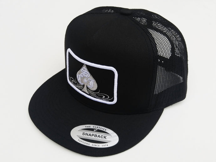 SCJ Classic Trucker (Silver and White)