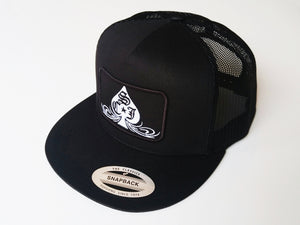 SCJ Classic Trucker (White and Black)