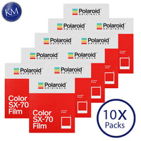 Polaroid Originals Color SX-70 Instant Film (8 Exposures) - 10 Pack