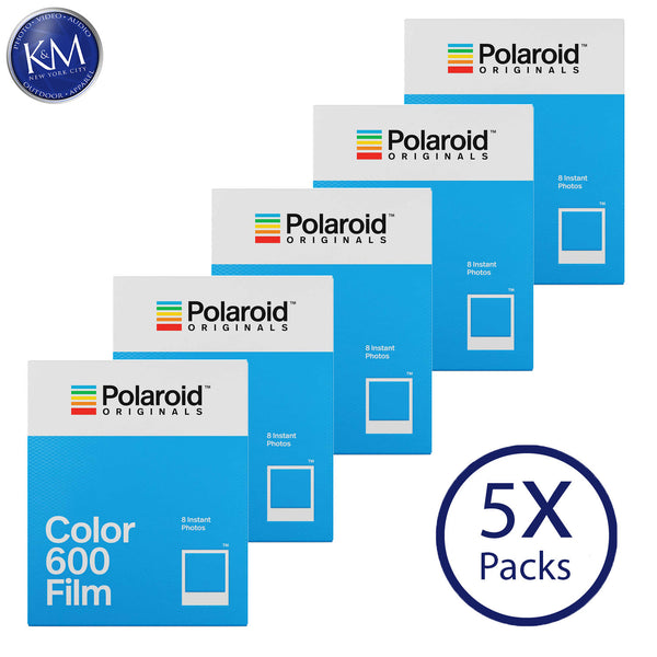 Polaroid Originals Color 600 Instant Fresh Film (40 Exposures) - 5 Pack