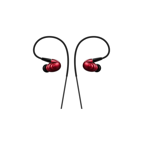 FiiO F9 Dynamic Hybrid Earphone w/Detachable Cables - Red