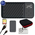 GNARBOX 2.0 SSD 512GB Rugged Backup Device Advance Bundle: Includes –Extra Battery, Sandisk Extreme 32gb Memory Card, Keep Co. Case, and Micro HDMI Cable.